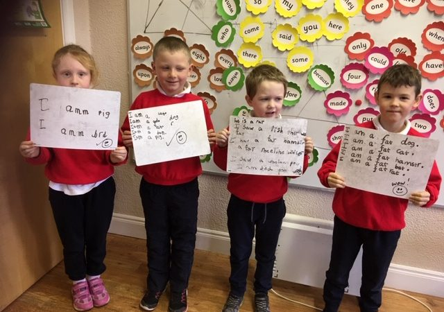 Senior Infant Independent Writing