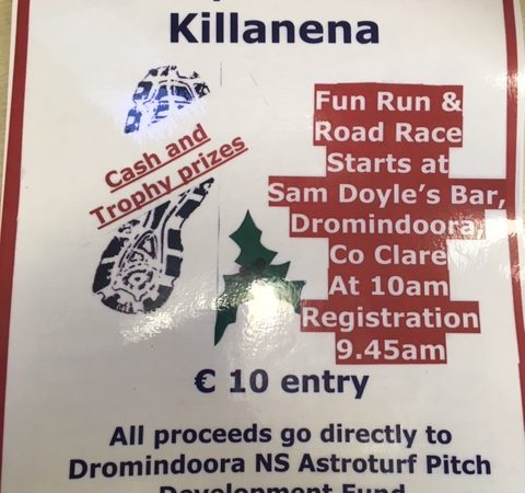 Fun Run & Road Race Fundraiser- St. Stephens Day
