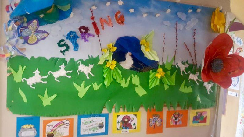 School Spring Art
